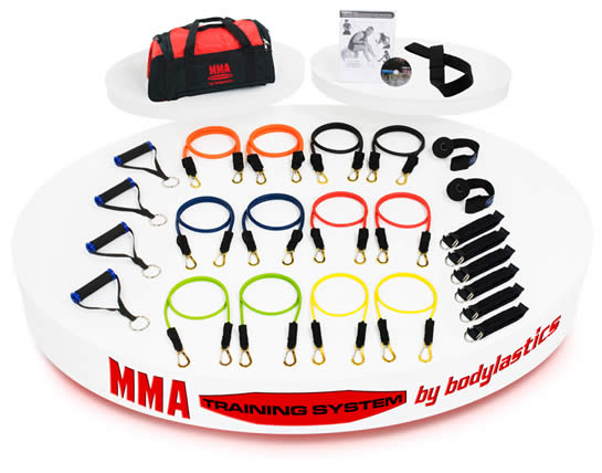 Mixed Martial Arts Resistance Bands